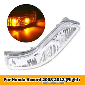 LED Side-Mirror Rear View Turn Signal Light Lamp Right Amber for 05-12 Acura RL