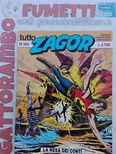 Tutto Zagor N.165 - Bonelli ottimo
