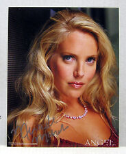 Mercedes McNab/Harmony Kendall ANGEL TV SERIES Autograph 8x10 Photo (FWAU-039)