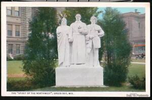 GREEN BAY WI Spirit of Northwest Sidney Bedore Postcard