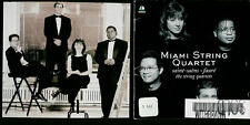 Miami String Quarted CD Saint - Saens . Faure, The String Quartets. 1997