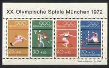 Germany 1972 Olympics/Sports/Basketball 4v m/s (n27857)