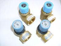 """Membran Sicherheitsventil Überdruckventil Wasser von 4,0 - 10,0 bar 1"""" DN 25"""