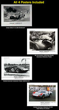 Shelby American Collection Set of 4 Posters. Set #3 Car Poster:>)