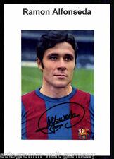 Ramon Alfonseda FC Barcelona TOP Foto Orig. Sign. +G 9500