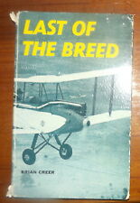 The Last of the Breed Brian P Creer 1964 Vintage Aircraft Australia History Rare