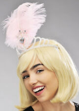 Pale Pink Feather Showgirl Headdress