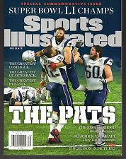 Sports Illustrated 2017 New England Patriots Super Bowl LI Commemorative Edelman