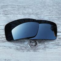 Oakley Gascan polished white black iridium Rare Collector