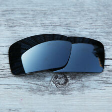 Black Chrome Black Iridium Polarized  Replacemetn Lenses For-Oakley Gascan