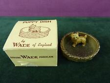A Nice  Vintage Wade Standing Puppy dish in original box