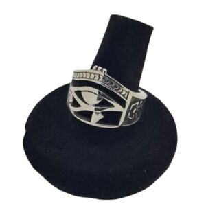 Eye Of Ra Ring Stainless Steel High Quality Horus Egyptian Gothic All Seeing Eye