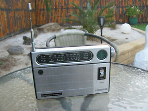 National Panasonic Model R-238R 11 Transistor Radio AM/SW 1974 GC Fully Working
