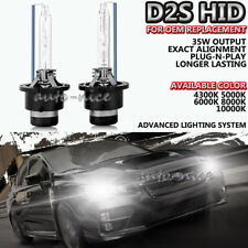 AC 35W D2S HID Xenon Headlight Bulbs For OEM Replacement Lights 43K 5K 6K 8K 10K
