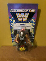 IN HAND STING Exclusive WWE Masters of the Universe Action Figure MOTU He-man