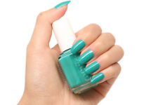 NEW! Essie nail polish lacquer in NAUGHTY NAUTICAL ~ Marine Blue-Green Shimmer