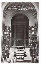 MONTREAL CANADA ST JOSEPHS SHRINE~EX VOTO ORATOIRE~REAL PHOTO POSTCARD 1940s