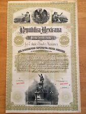 1885 Black Diamond / Christopher Columbus Republica Mexicana - £250 - Specimen