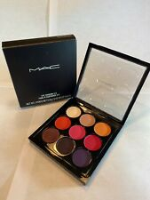 MAC~RED HOT TIMES NINE~Eyeshadow Palette Discontinued