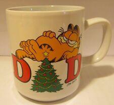 Garfield Merry Christmas Dad Coffee Mug 1978 by Enesco