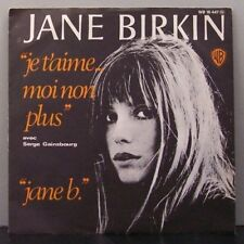 "(o) Serge Gainsbourg & Jane Birkin - Je T'Aime...Moi Non Plus (7"" Single)"