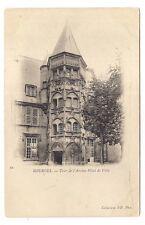 bourges   tour de l'ancien hôtel de ville