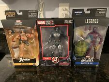 Marvel Legends Mixed Lot - Ultron, Eel, Weapon X - New/Fastory Sealed