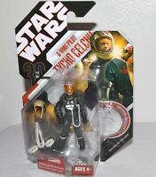 Star Wars Tycho Celchu A-Wing Pilot Figure 30th Anniversary Return Jedi Coin #44
