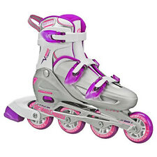 Womens Roller Skates Adult Adjustable Inline Skate Sports Outdoor Derby Size 6-9