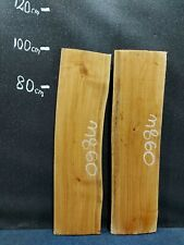 Waney Edge Live Edge Elm Slab Board Kiln Dried Hardwood 980 x 260-270 x 45mm