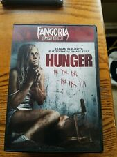 HUNGER - FANGORIA - DVD - WATCHED ONCE!!