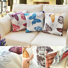 Fashion Classic Butterfly Cushion Cover Sofa Throw Pillow Case Home Decor Room