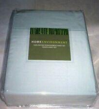 Sky Blue QUEEN 100% BAMBOO Silky Sheet Set Home Environment 4 Pc x-DEEP New