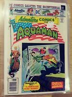 ADVENTURE COMICS AQUAMAN 446 VF DC PA11-17