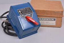 Märklin 6013 Transformateur / 16 VA 220 Volt / Max. 1.0 Ampères / Ovp