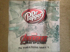 """Avengers Age of Ultron Dr. Pepper 24""""X24"""" Floor Decal Display Sticker NEW Marvel"""
