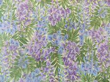 WtW Estate Fabric Hoffman Blooms Floral Garden Flower Nature Metallic  Quilt