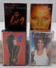 Whitney Houston Janet Jackson Anita Baker Toni Braxton Cassette Tape Lot x 4