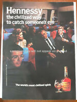 1986 Print Ad Hennessy Cognac Vintage 80's Advertisement