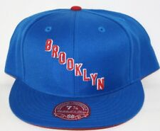 NEW Brooklyn Americans MITCHELL & NESS NHL Hockey Fitted Baseball Hat Cap