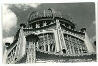 RPPC Baha'i Temple at WILMETTE IL Illinois Real Photo Postcard