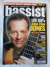 Bassist Bass Guitar Magazine - September 1999 - John Paul Jones - Led Zeppelin