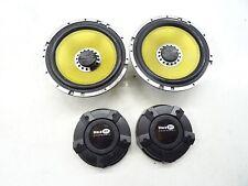 VIBE BLACK AIR Component System Lautsprecher Set Weichen 360W ohne Hochtöner!