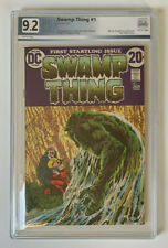 SWAMP THING #1 |  PGX 9.2  | White pages, Origin of Swamp Thing | Swamp Thing #1