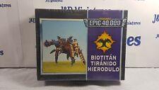 Games Workshop Citadel Epic Warhammer 40K Tyranid Hierodule Bio Titan Sealed OOP