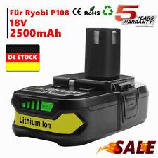 für Ryobi Akku 18 V 2,5Ah Lithium Batterie one Plus RB18L50 P104 P107 P108 MP