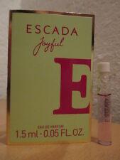 💕 ESCADA 💕 Joyful ~ ED Parfum Probe NEU OVP