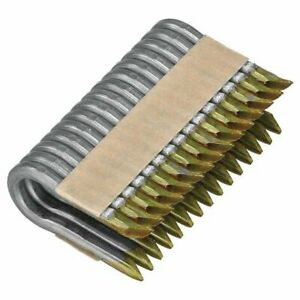 COLLATED FENCING STAPLES 3.15/40MM HOT DIPPED GALVANISED 2100 PER TUB & 1 GAS