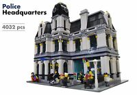 Lego Custom Modular Building [Police Headquarters/Station] INSTRUCTIONS ONLY
