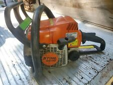 Stihl 017 Chainsaw for Parts repair runs needs work